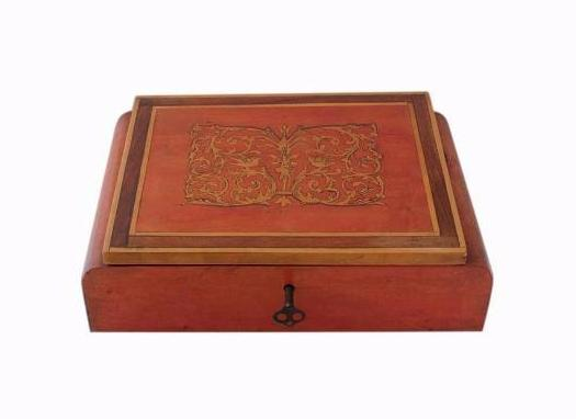 SOLD Italian Inlaid Art Deco Jewellery Box