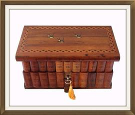 SOLD Jewellery Box With Secret Lock & Compartment