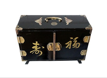 Beautiful Japanese Vintage Musical Jewellery Box