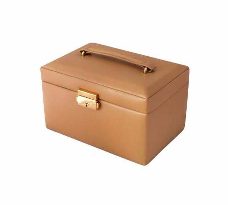 Beautiful Modern Simulated Leather Jewellery Box