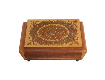 Beautiful Silk Lined Italian Vintage Jewellery Box