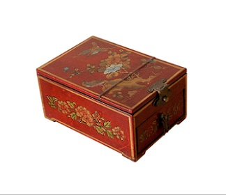 SOLD Vintage Chinese Vanity Or Jewellery Box