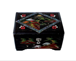 SOLD Japanese Musical Vintage Jewellery Box