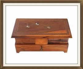 SOLD Italian Vintage 1930s Musical Jewellery Box