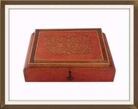 Beautiful Italian Inlaid Art Deco Jewellery Box