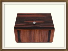 SOLD Macassar Ebony Art Deco Jewellery Box