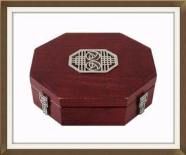 Stylish Scottish Jewellery Box By Carrick