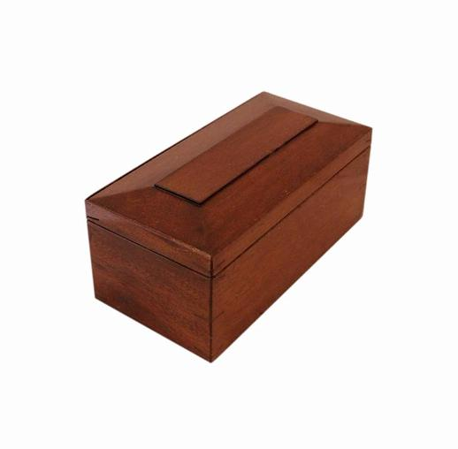 SOLD Mahogany Victorian Antique Jewellery Box