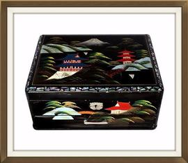 SOLD Japanese Vintage Musical Jewellery Box