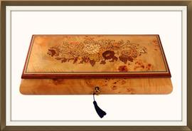 SOLD Quality Italian Inlaid Musical Jewellery Box