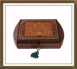 SOLD Vintage Sorrento Musical Jewellery Box