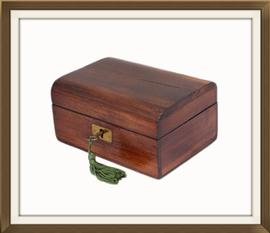 SOLD Beautiful Small Antique Jewellery Box