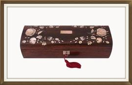 SOLD Victorian Inlaid Rosewood Jewellery Box