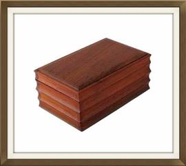 SOLD 1936 Coin Inset Oak Vintage Jewellery Box