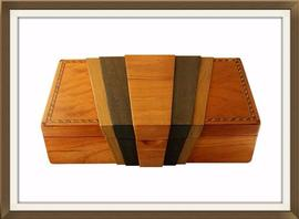 Beautiful Artisan Art Deco Inspired Jewellery Box