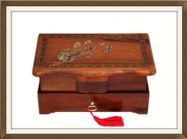 SOLD Inlaid Italian Art Deco Jewellery Box