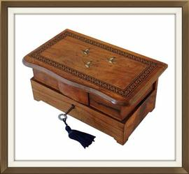 SOLD Italian 1930s Vintage Musical Jewellery Box
