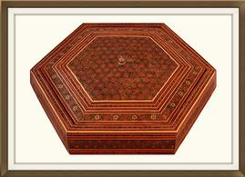 SOLD Vintage Persian Inlaid Jewellery Box
