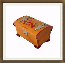 Vintage Chest Design Musical Jewellery Box