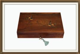 SOLD Italian Art Deco Inlaid Jewellery Box