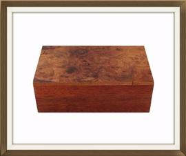 SOLD Beautiful Vintage Walnut Jewellery Box