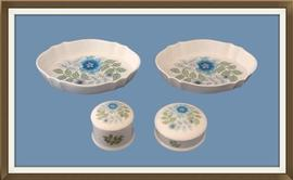 Collection of Wedgwood Ring Dishes & Trinket Pots
